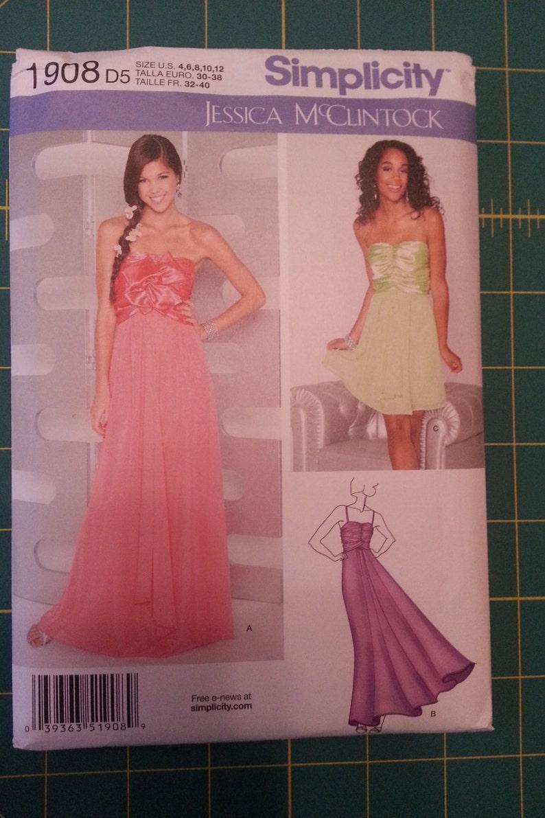 Unused Simplicity Formal Prom/Bridesmaid Dress Jessica image 0