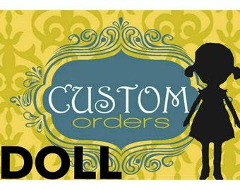Custom Doll listing