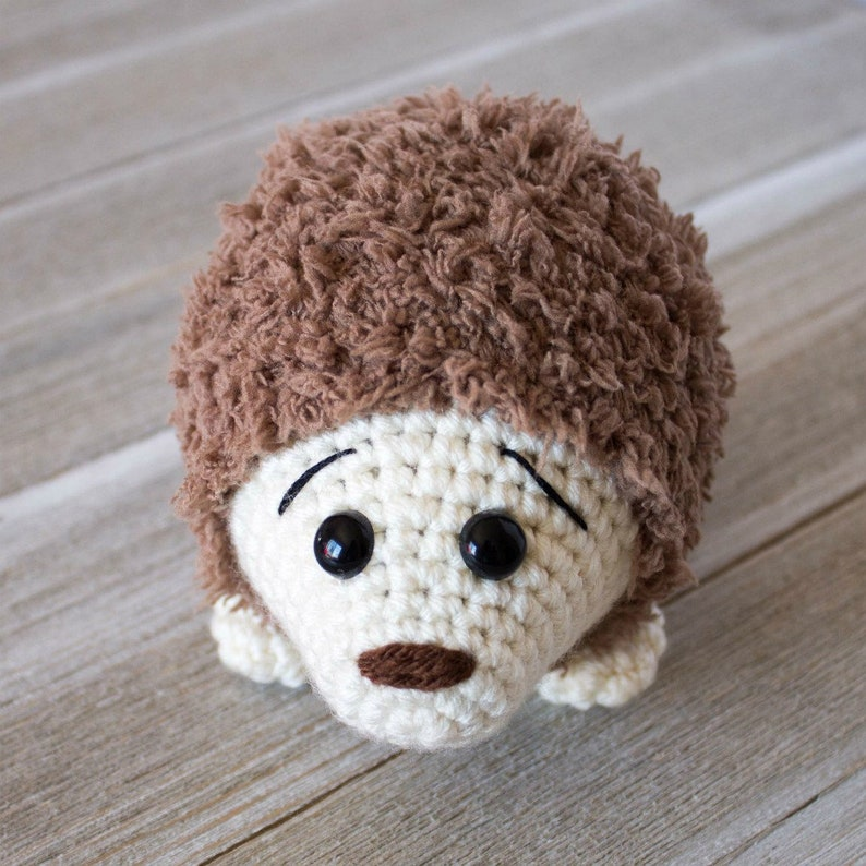 Crochet Hedgehog Pattern Crochet Hedgehog PATTERN ONLY image 0