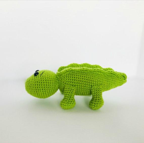 Alligator Crochet Pattern Amigurumi Alligator Crochet Etsy