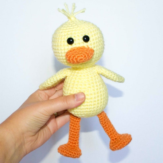 Duck Amigurumi Pattern