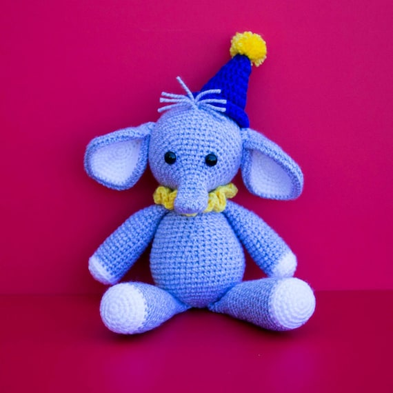Elephant Amigurumi Nina Free Crochet Pattern Amigurumi Patterns ... | 570x570