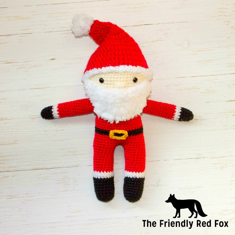 10 Free Santa Crochet Patterns | 794x794