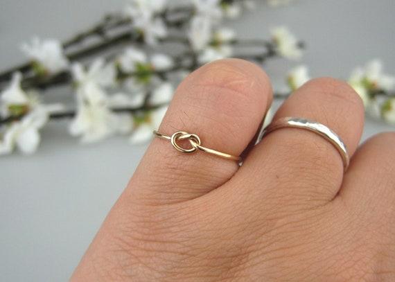 thumb//wrap Ajustable Love Oro o Rose Placa De Oro Fino Flecha Anillo En Plata