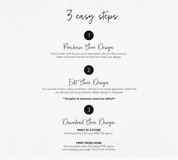 Editierbare Boutique Visitenkarten Design Editierbare Visitenkarte Vorlage Individuelle Visitenkarten Design Boutique Goldstreifen Bearbeiten