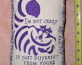 Free Shipping, Cheshire Cat, Alice in Wonderland room decor pillow