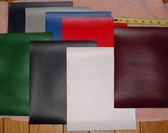 Free Shipping Marine Vinyl Fabric   8 - 8x10 sheets of marine VINYL. 1 of each color