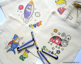 Colour In Party Bag