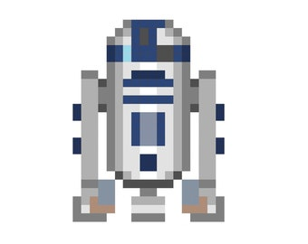 Star Wars Bb8 Quilt Top Pattern Pixel Quilting Etsy