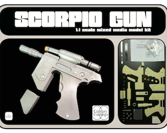 Blakes 7 scorpio clip gun scifi model kit science fiction cos play