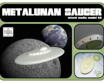 Metaluna flying saucer UFO scifi model kit by Century Castings