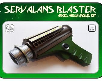 Blake's 7 Servalan's blaster resin prop replica model kit sci fi vintage