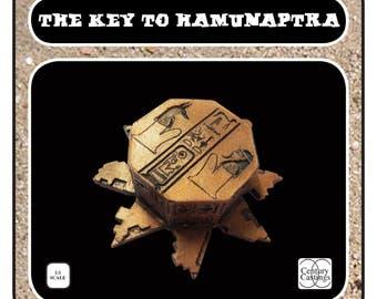 The key to Hamunaptra prop kit the mummy cosplay display