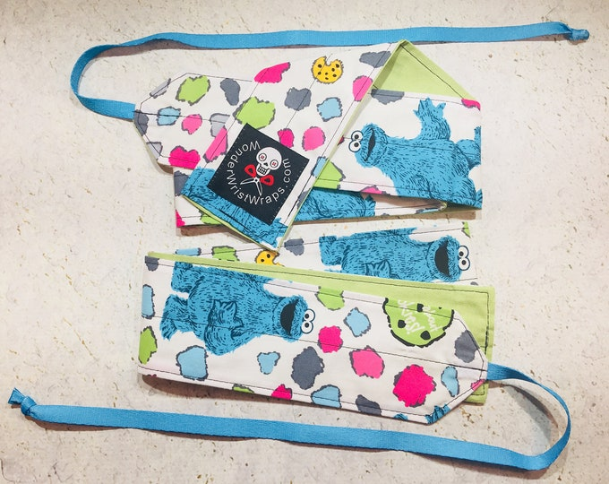 Cookie Monster, Wrist Wraps, WOD, Weightlifting, Athletic