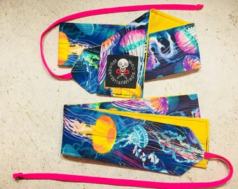 Jelly FIsh, Wrist Wraps, WOD, Weightlifting, Athletic