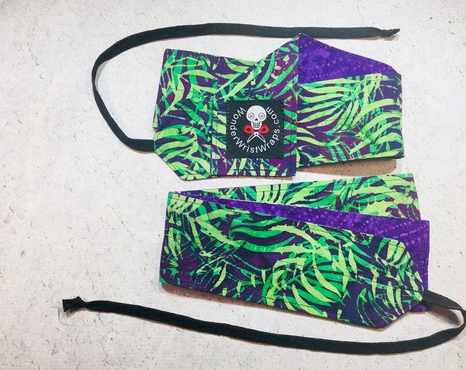 Jungle Ferns Bali, Wrist Wrap, WOD, Weightlifting, Athletic