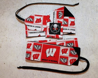 University of Wisconsin, Badgers, Wrist Wraps, WOD, Weightlifting, Athletic