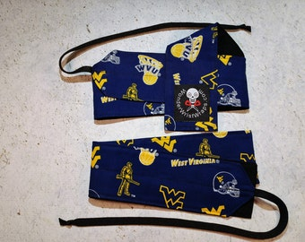 West  Virginia Univeristy, Mountaineer, Wrist Wraps, WOD, Weightlifting, Athletic