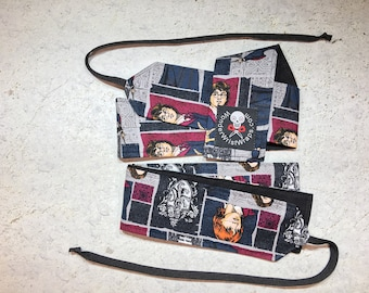 Harry Potter, Block Jumble, Wrist Wraps, WOD, Weightlifting, Athletic
