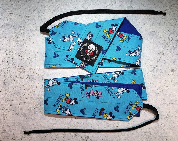 Mickey & Minnie Mouse, Wrist Wraps, WOD, Weightlifting, Athletic