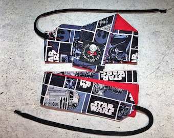 Star Wars Comic Block, WOD Wrist Wraps, Weight Lifting