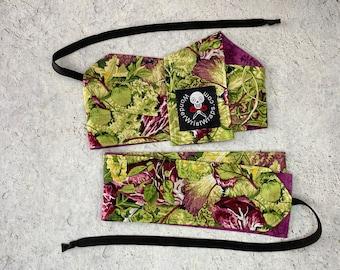 Leafy Green Kale, Wrist Wrap, WOD, Weightlifting, Athletic