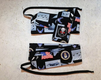 Air Force, Military, Wrist Wraps, WOD, Weightlifting, Athletic, Clearance, Sale