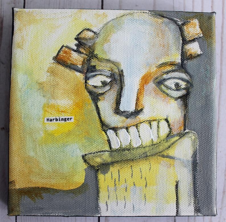 HARBINGER original acrylic on canvas image 0