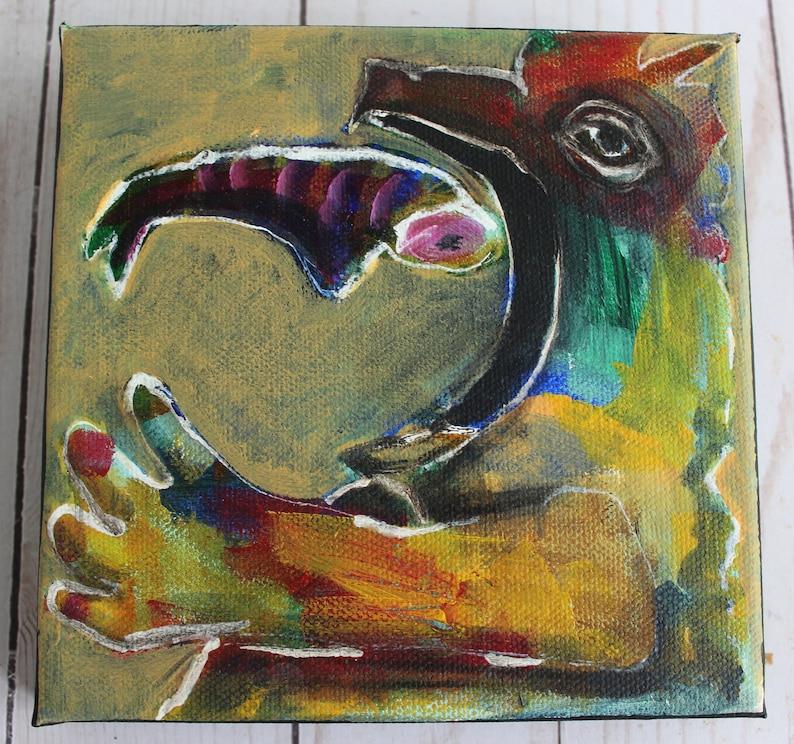 Feast   original acrylic on canvas image 0
