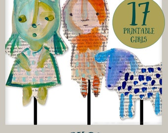 StoryDolls - printables for telling your stories