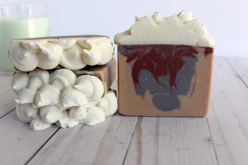 RED HOT BERRIES  handmade soap image 0