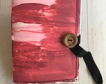 CANYON Button Sketchbook - blank OOAK art journal