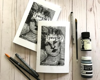 NOUNS 1 - PEOPLE art zine