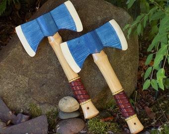BATTLE AX /Wood toy Blue ax