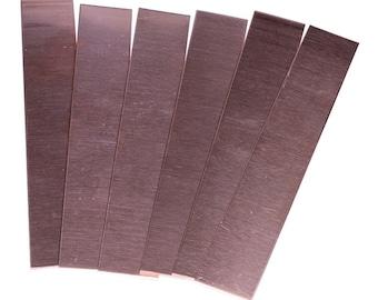 "26ga 20ga Select Thickness - 24ga Copper Sheet 4/""x120/"" 18ga 22ga"