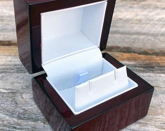Rosewood Earring Box (Single) (DBX4013)