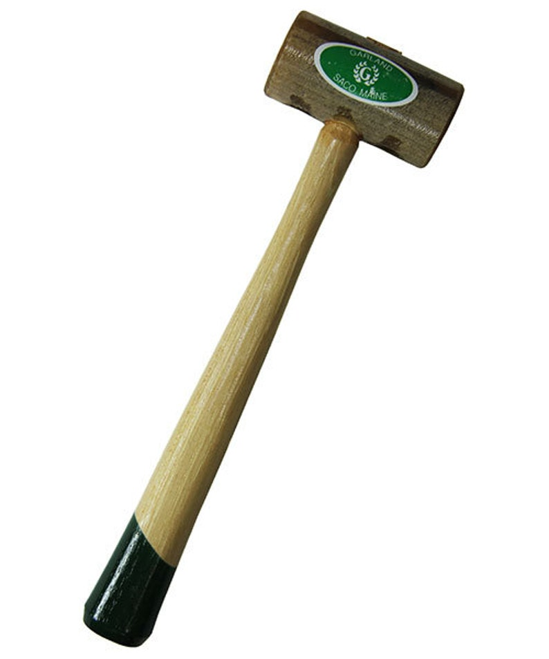 1-14 face  8oz head Weighted Rawhide Mallet by Garland 37.711