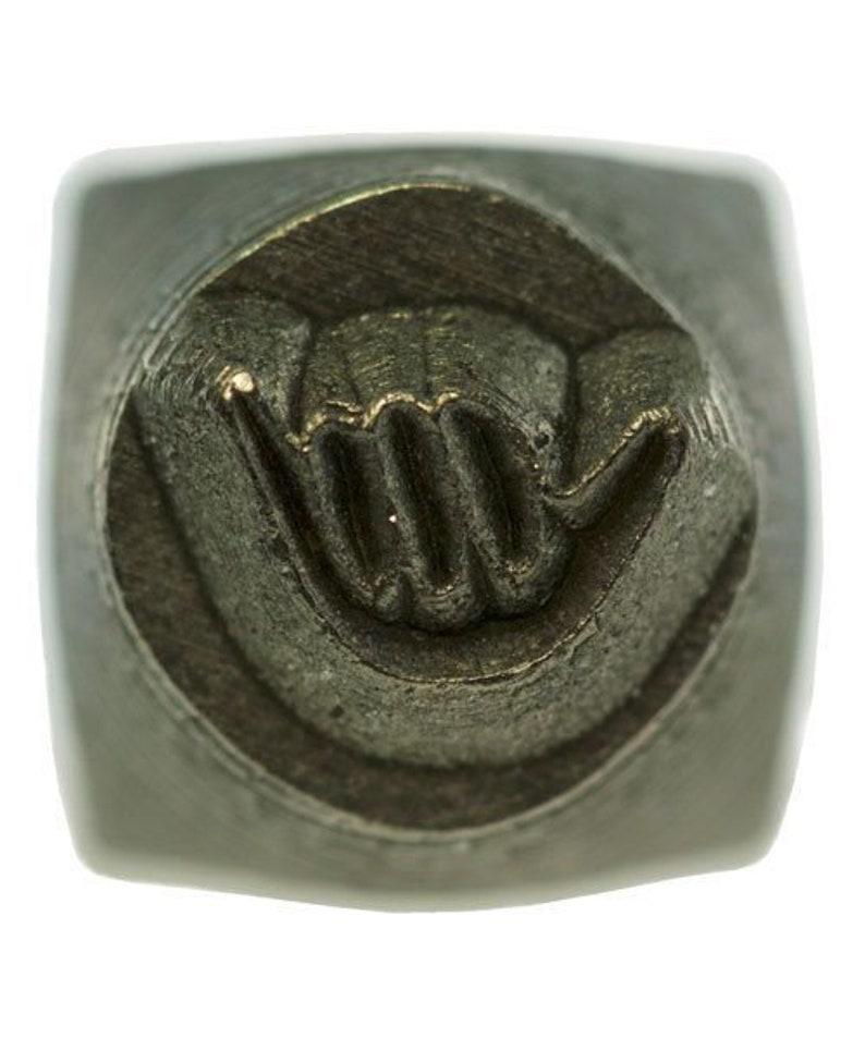 Design Stamp-6mm Hang Loose **CLOSEOUT** PN5656