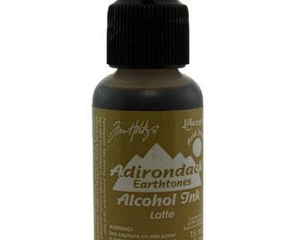 Tim Holtz Adirondack Alcohol Ink Earthtones LATTE  0.5oz  (PM4056)