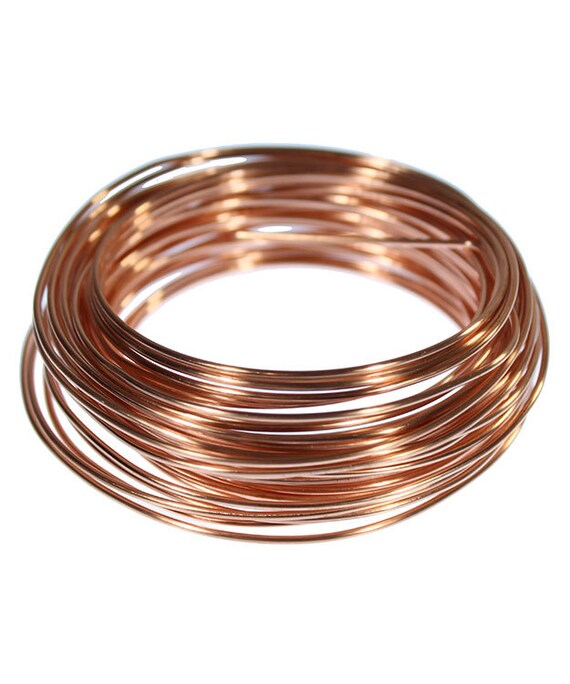 COPPER WIRE ROUND 18ga 1.02mm 1//4lb COIL