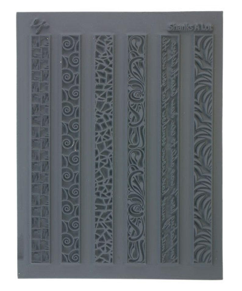 Lisa Pavelka Texture Stamp Mold Sheet Surface Imprinting Cloodlettes Design