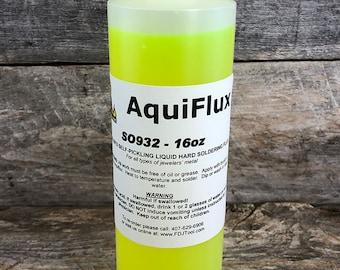 Aquiflux Yellow Soldering Flux (1 pint) (SO932)