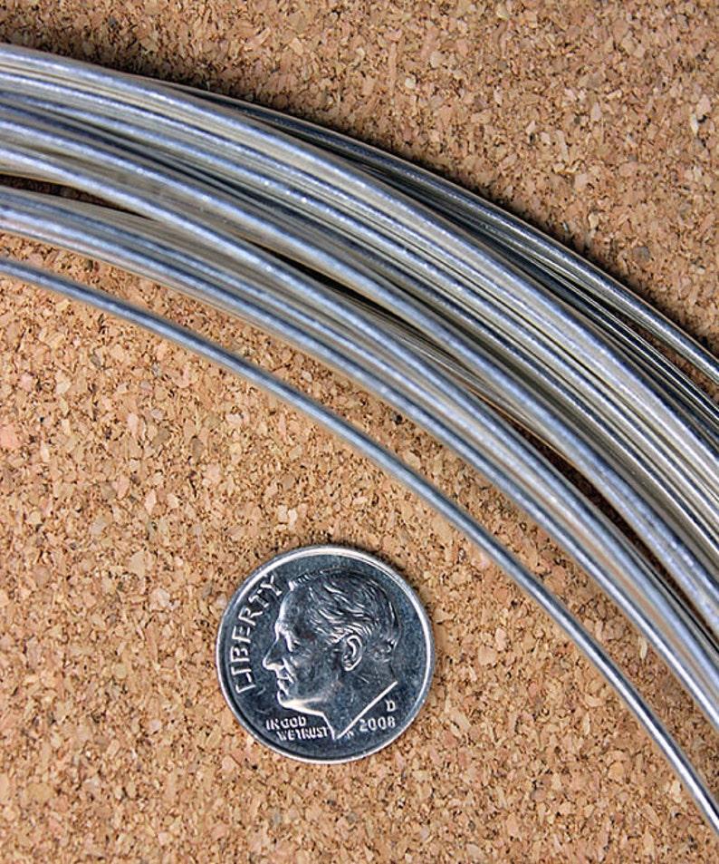 Round Sterling Wire 14ga Sold per foot Dead Soft 1.6mm SRW14