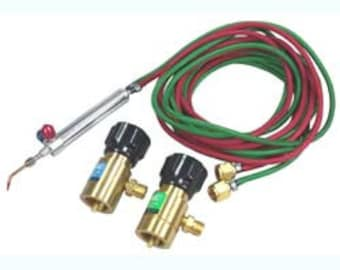 Small Torch Kit Propane/Oxygen with Disposable Tank Regulators (BT2018)