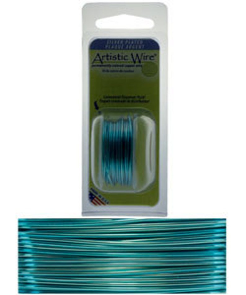 Artistic Wire Dispenser Pack SP Ice Blue 24ga WR26624 10 yards