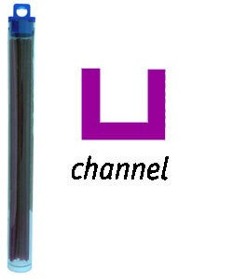 Cowdery Wax Channel 1.0mm-Purple CA1994