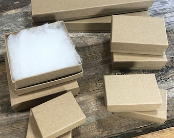 Kraft Cotton Filled Box Assortment (100pcs) (DBX2899K)