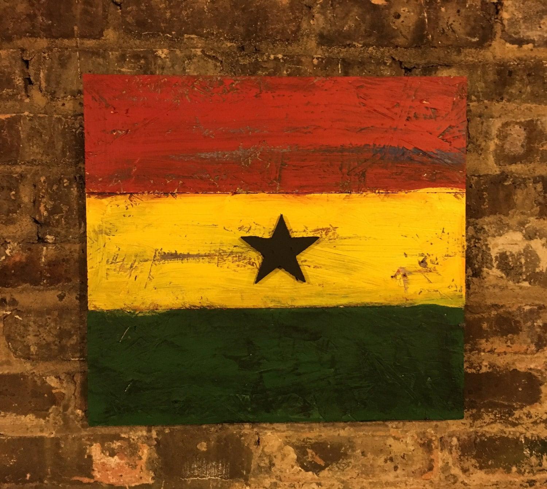 Ghana Flag Flags Vintage Ghana Flag of Ghana Flags   Etsy