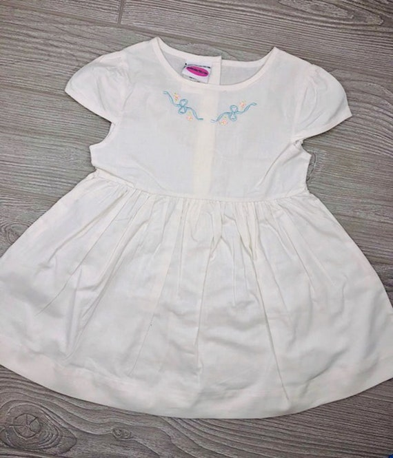 Embroidered Baby Dress
