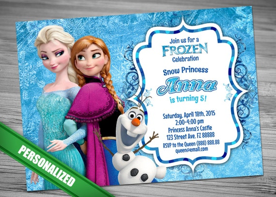 Frozen invitation disney frozen invitation printable etsy image 0 filmwisefo